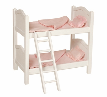 Guidecraft <br />Doll Bunk Bed (White)