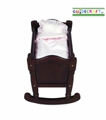 Guidecraft <br />Doll Cradle (Espresso)