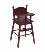 Guidecraft <br />Doll High Chair (Espresso)