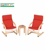 Guidecraft <br />Kiddie Rocker (Red)