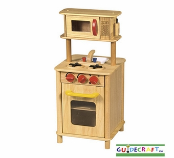 Guidecraft <br />Kitchenette Natural