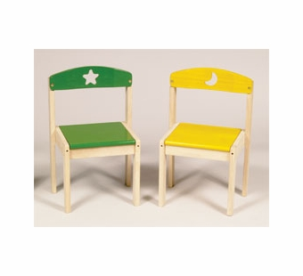 Guidecraft <br />Moon & Stars Children's Chairs Set