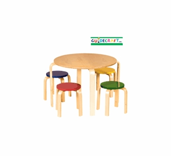 Guidecraft <br />Nordic Table Set (Color)