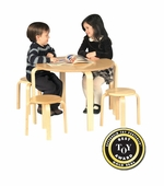 Guidecraft <br />Nordic Table Set (Natural)