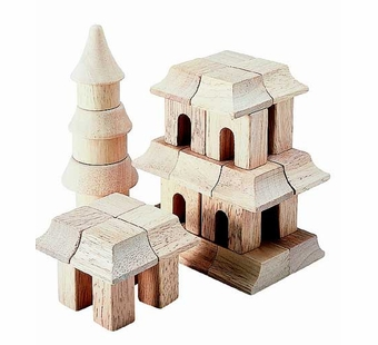 Guidecraft <br />Oriental Wood Block Set