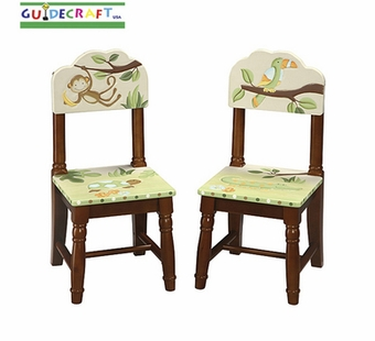 Guidecraft <br />Papagayo Children's 2 Chairs