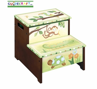 Guidecraft <br />Papagayo Children's Step Stool