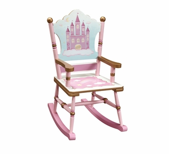 Guidecraft <br />Princess Children's Rocking Chair