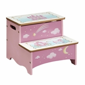 Guidecraft <br />Princess Children's Step Stool