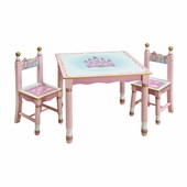 Guidecraft <br />Princess Children's Table & Chairs Set