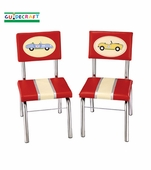 Guidecraft <br />Retro Racers Children's Chair Set
