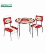 Guidecraft <br />Retro Racers Children's Table & Chairs Set