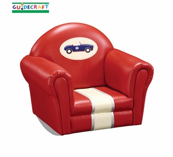Guidecraft <br />Retro Racers Children's Upholstered Rocker