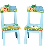 Guidecraft <br />Safari 2 Children's Chairs Set