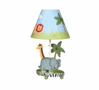 Guidecraft <br />Safari Children's Lamp