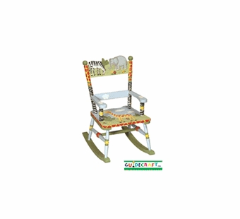 Guidecraft <br />Safari Children's Rocker