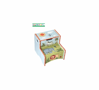 Guidecraft <br />Safari Children's Step Stool
