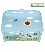 Guidecraft <br />Safari Children's Toy Box