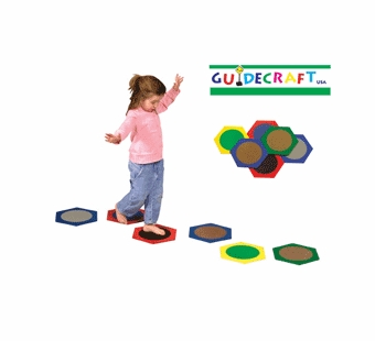 Guidecraft <br />Sensory Stepping Stones
