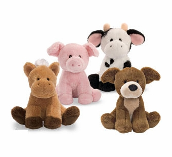Gund <br />Noisy Farm Animals 4.5
