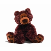 Gund <br />Philbin Chocolate Stuffed Animal Bear