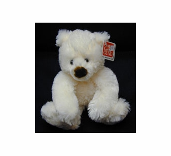 Gund <br />Schatzi Cream Stuffed Bear 6
