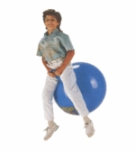 "Gymnic <br />26"" Blue Hoppity Hop Ball"