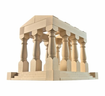 Haba <br />Antiquity Wood Building Blocks