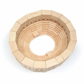 Haba <br />Wood Coliseum Architectural Building Blocks