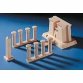 Haba <br />Wood Egyptian Architectural Building Blocks