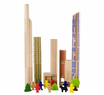 Haba <br />Wood Skyscrapers Building Blocks