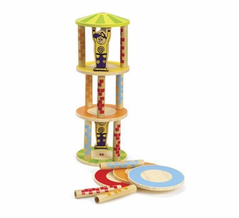 Hape / Educo <br />Crazy Tower Game