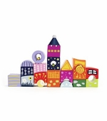 Hape / Educo <br />Fantasy Wood Castle Blocks