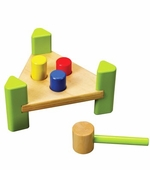Hape / Educo <br />Little Pounder Wood Bench