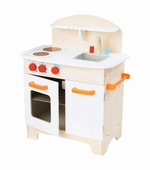 Hape / Educo <br />Wood White Gourmet Kitchen