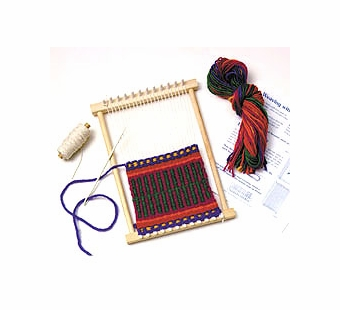 Harrisville Designs <br />Kids Weaving Peg Loom 10