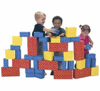 Imagibricks <br />Cardboard Blocks 40 Piece Set