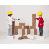 Imagibricks <br />Construction Cardboard Block Set