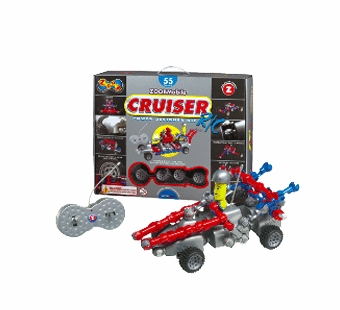 Infinitoy <br />ZOOB Cruiser Building Kit