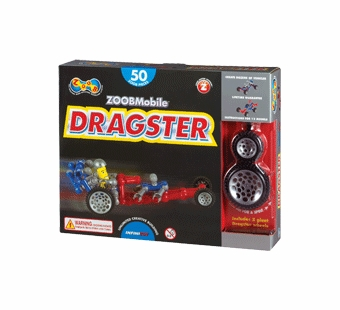 Infinitoy <br />ZOOB Dragster 50 pieces