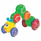 International Playthings <br />Press n Go Inchworm