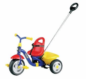 Kettler <br />Happy Air Navigator Tricycle with Pushbar