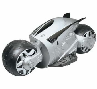 Kid Galaxy <br />R/C Cybercycle Silver