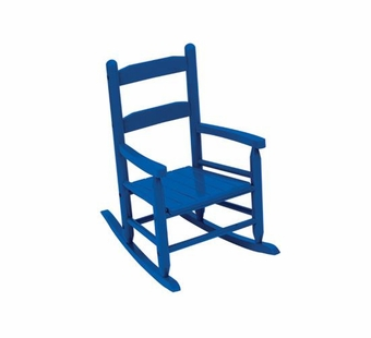 KidKraft <br />2 Slat Rocking Chair (Blue)