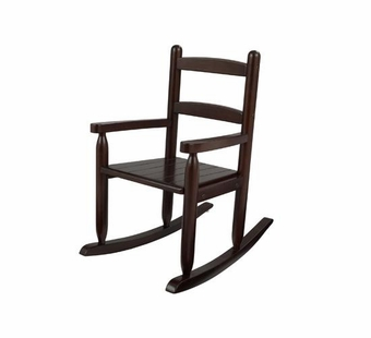 KidKraft <br />2 Slat Rocking Chair (Espresso)