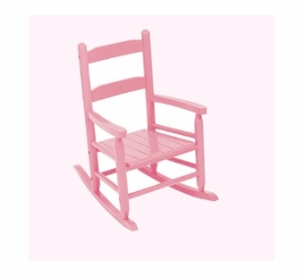 KidKraft <br />2 Slat Rocking Chair (Pink)