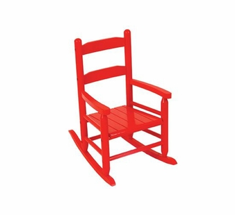 KidKraft <br />2 Slat Rocking Chair (Red)
