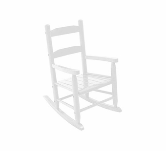 KidKraft <br />2 Slat Rocking Chair (White)