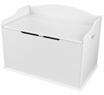 KidKraft <br />Austin Toy Box (White)