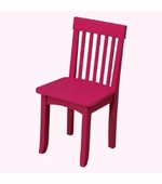 KidKraft <br />Avalon Chair (Raspberry)